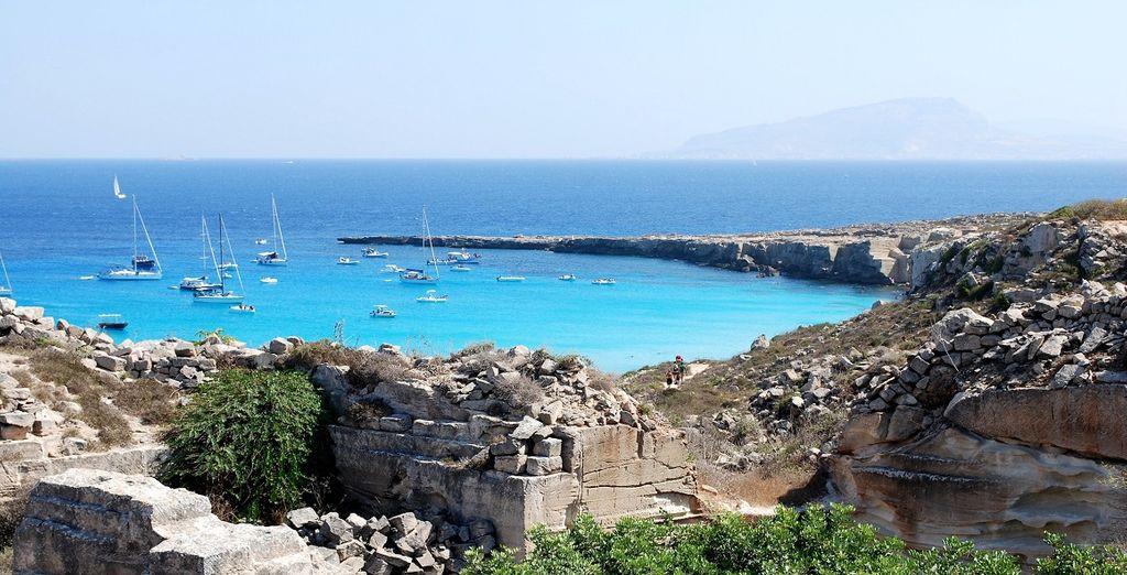 Non perdetevi la possibilità di visitare le isole Egadi
