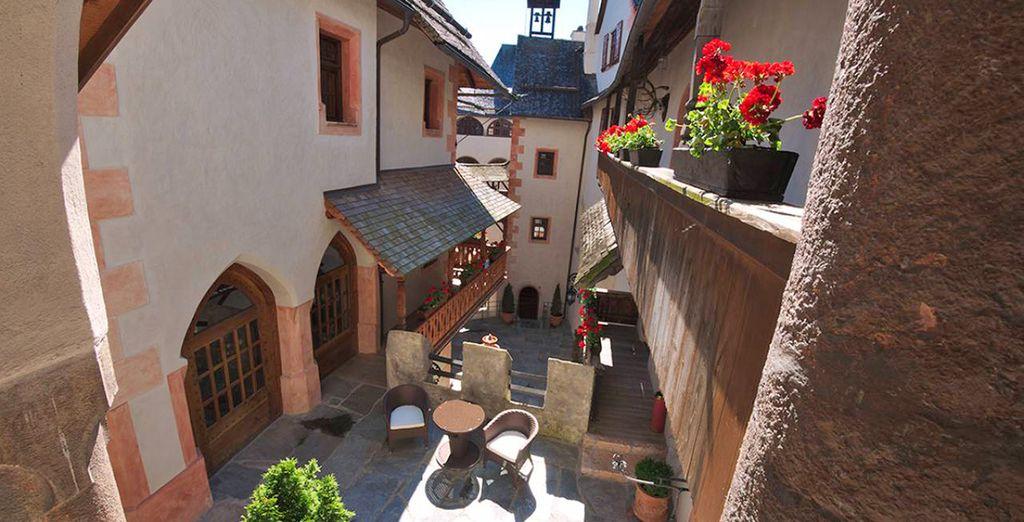 Un castello risalente al XII secolo rinnovato con cura ed attenzione nei particolare
