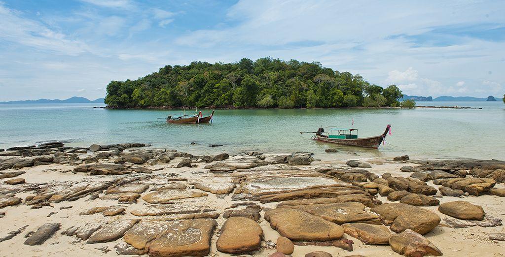 vi innamorerete delle spiagge di Krabi