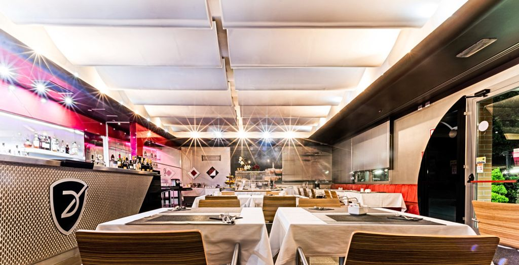 e potrete concedervi piacevoli pausa, colazioni squisite, light lunch e aperitivi al Caffe Lounge