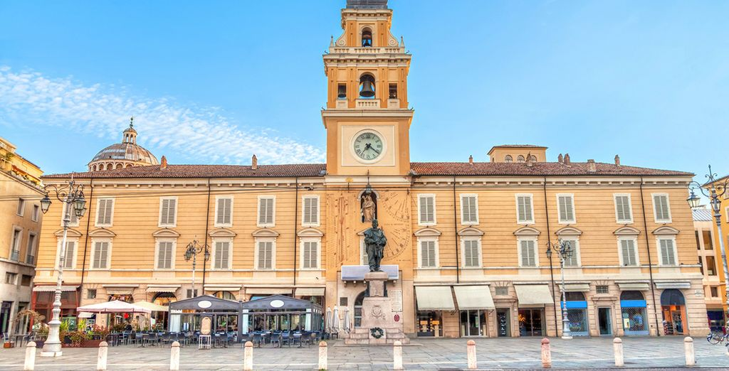 Partite alla scoperta di Parma e del suo centro storico