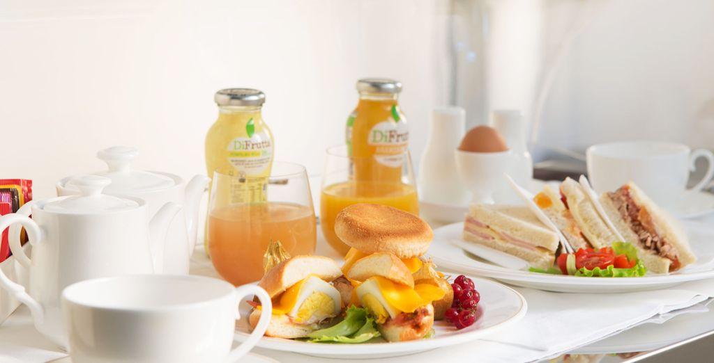 La mattina inizierà con un'ottima colazione