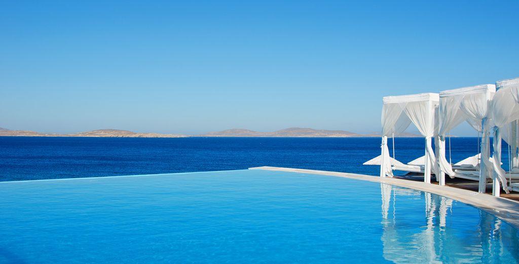 Fantastici panorami sul Mar Egeo vi attendono