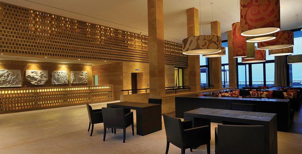 In un lussuoso Resort 5*