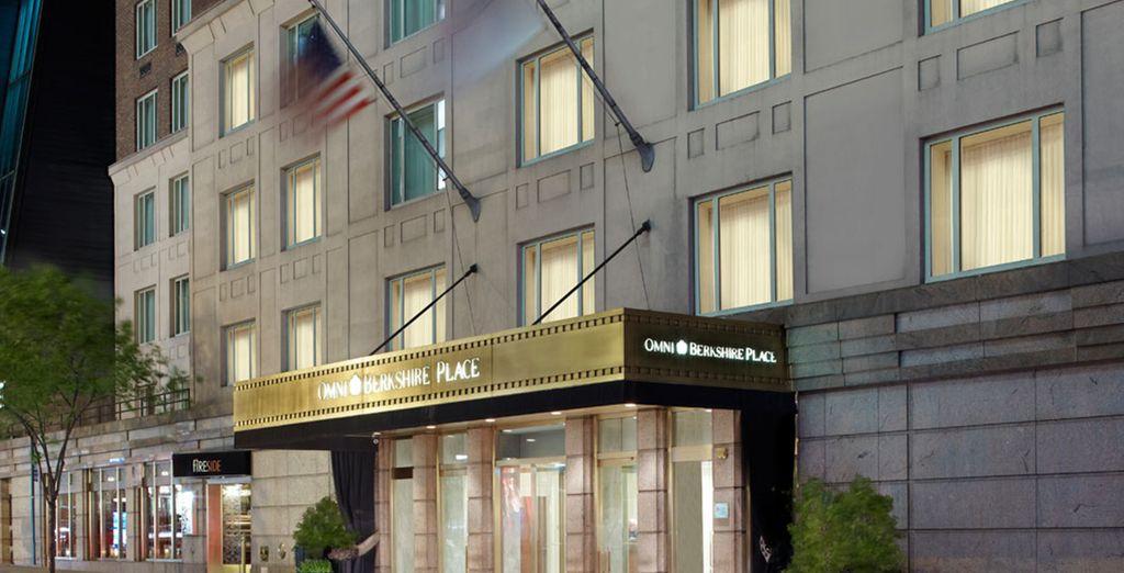 L'Hotel Omni Berkshire vi dà il benvenuto