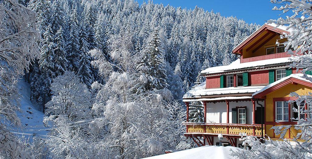 Tra le Dolomiti innevate, godetevi la vostra vacanza all'insegna degli sport invernali