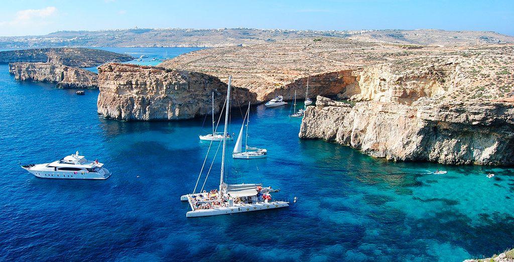 Cogliete l'opportunità di visitare l'isola di Comino