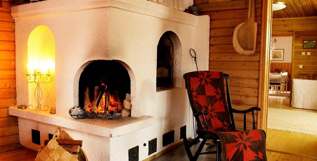 Sarete accolti in in un ambiente rilassante e dotato di tutti i comfort