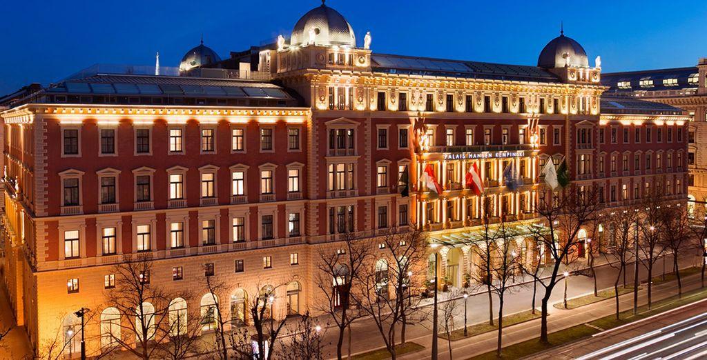 Benvenuti al Palais Hansen Kempinski di Vienna