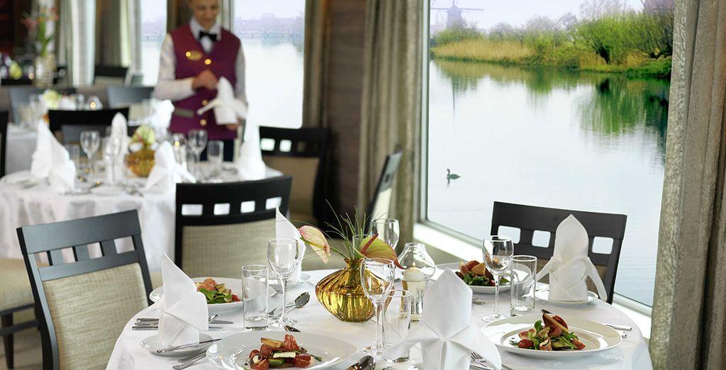 Il ristorante vi saprà stupire con ottime pietanze in un ambiente curato e con servizio puntuale