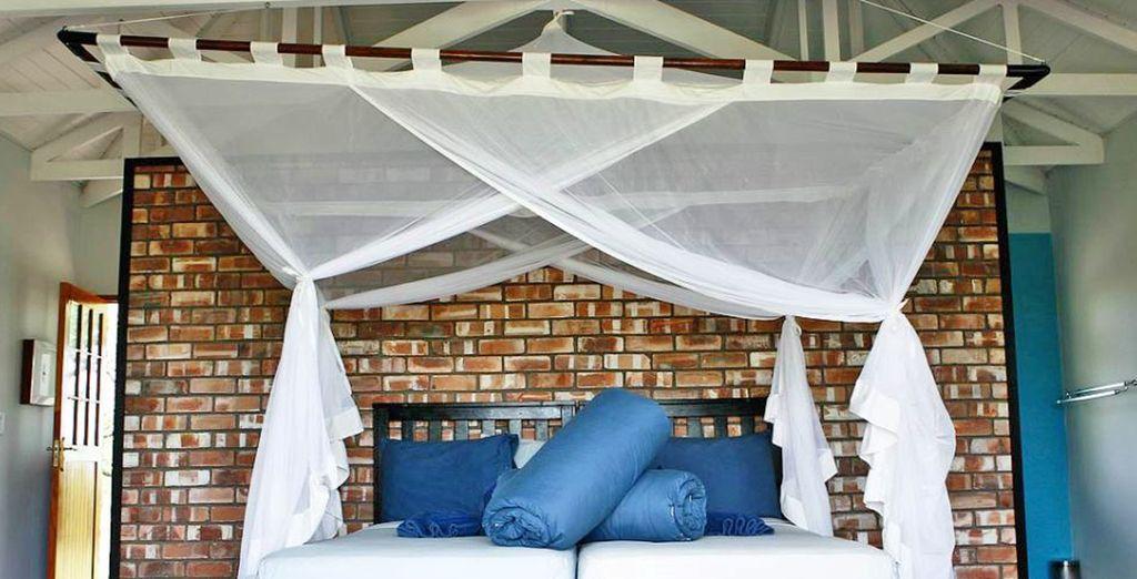 e l'Etosha Safari Lodge la notte successiva