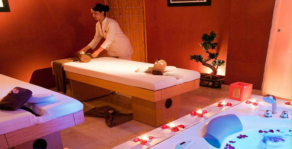Prendetevi cura del vostro corpo con un massaggio o un trattamento esclusivo