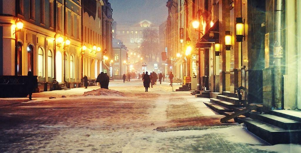 i suoi paesaggi invernali