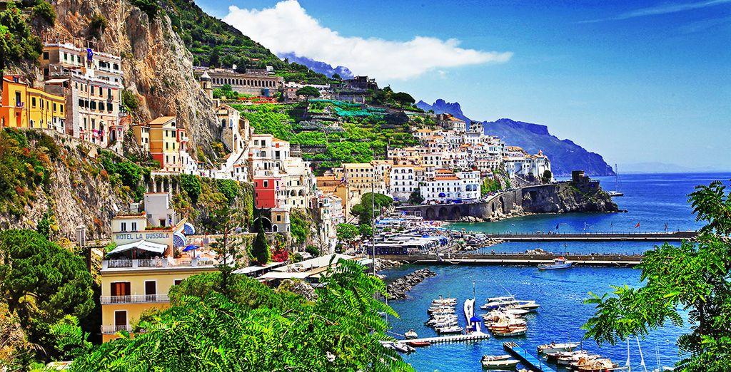 i meravigliosi colori della Costiera Amalfitana