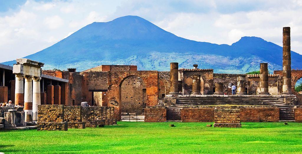 Esplorate Pompei grazie all'escursione che potrete acquistare in supplemento