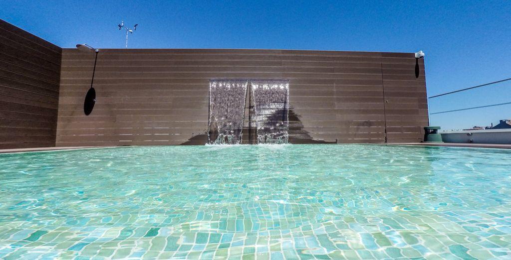 Dove si trova anche la magnifica piscina