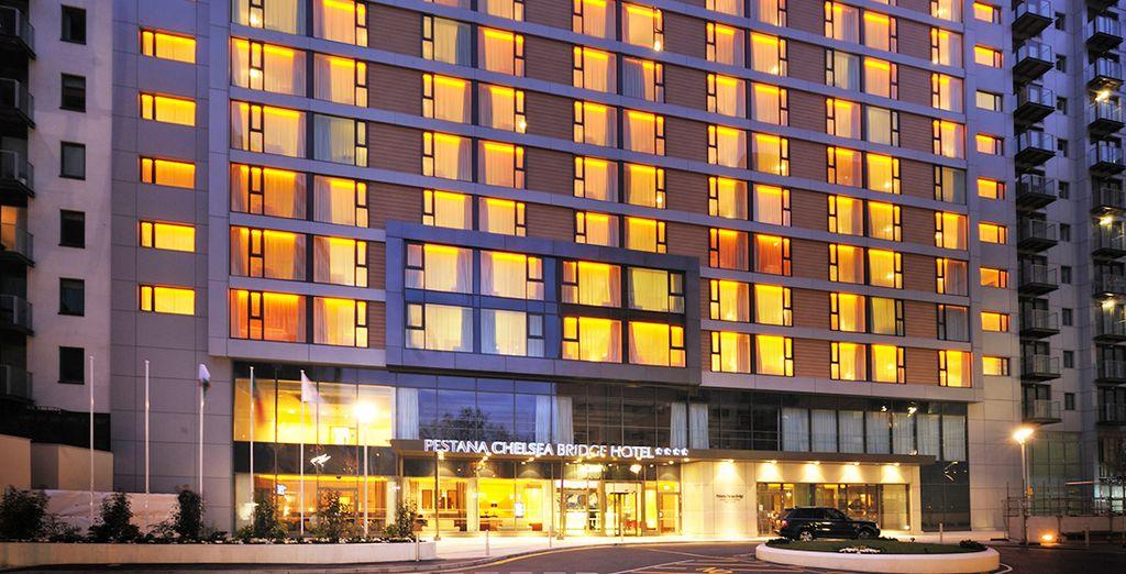 Un moderno hotel in una zona passata alla storia: Chelsea