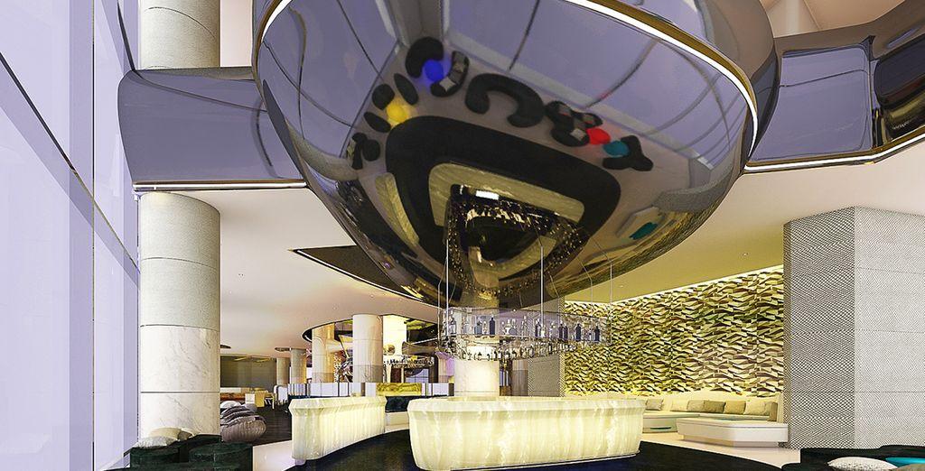 Un hotel dal design ultramoderno