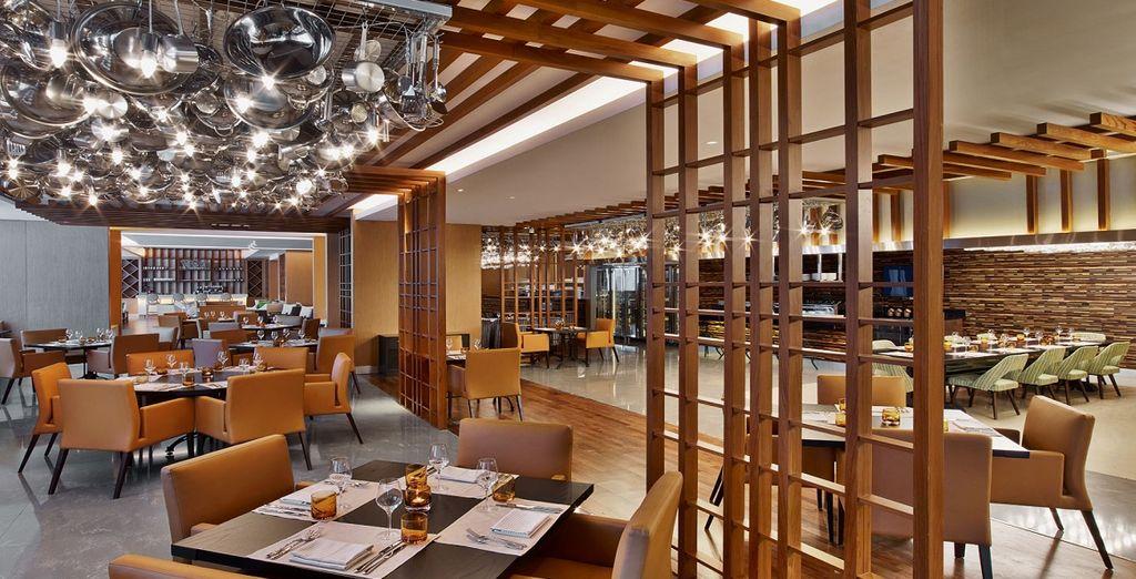 Level Seven è un ristorante che offre una cucina internazionale