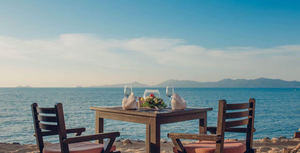 Il resort offre una proposta culinaria unica con il ristorante Terrace