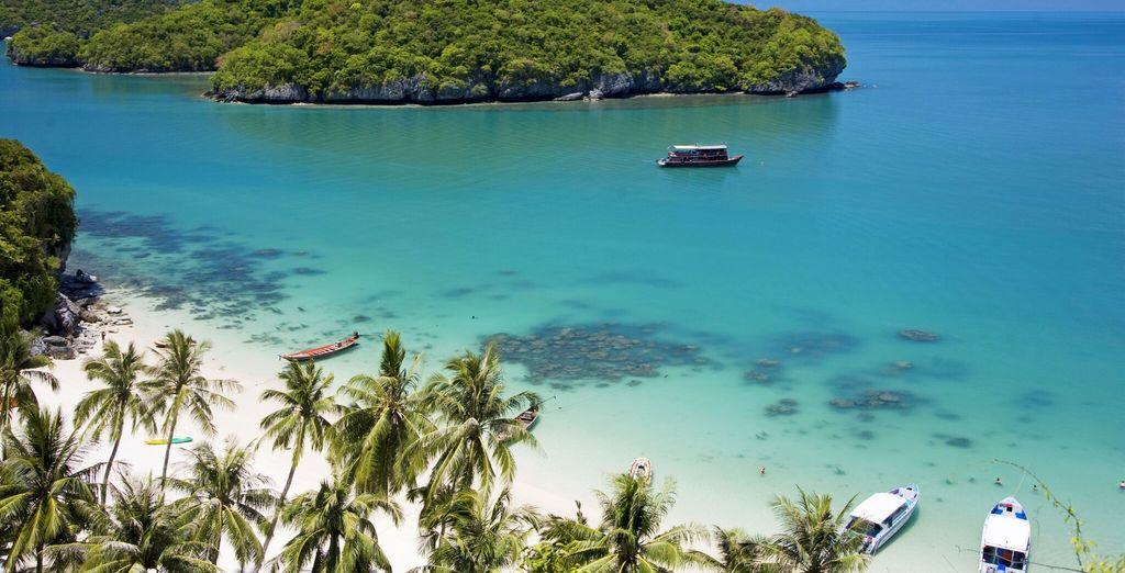 ed una posizione strategia a breve distanza dalle spiagge più famose di Koh Samui.