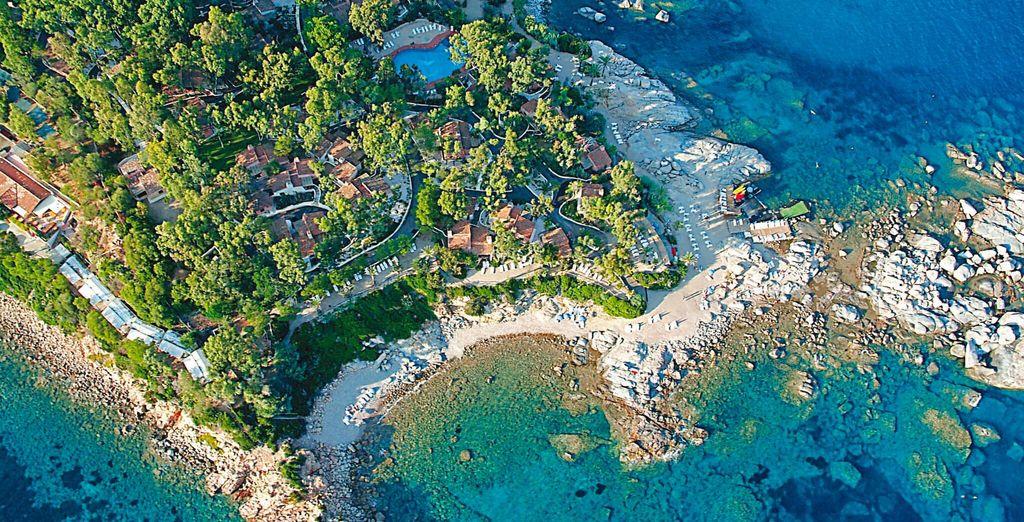 Il complesso Arbatax Park Resort 4* è pronto a darvi il benvenuto e a farvi soggiornare nella zona Cottage