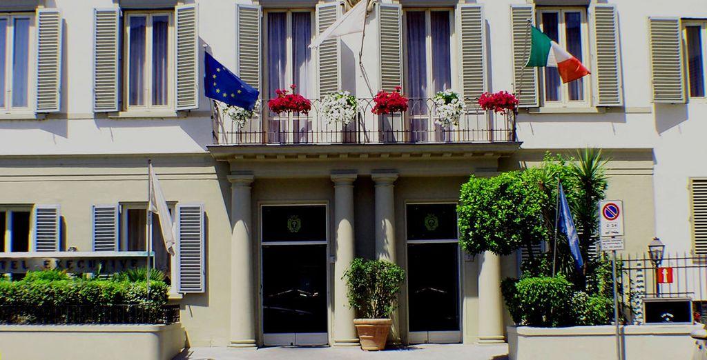 Hotel Executive 4* è lieto di darvi il benvenuto