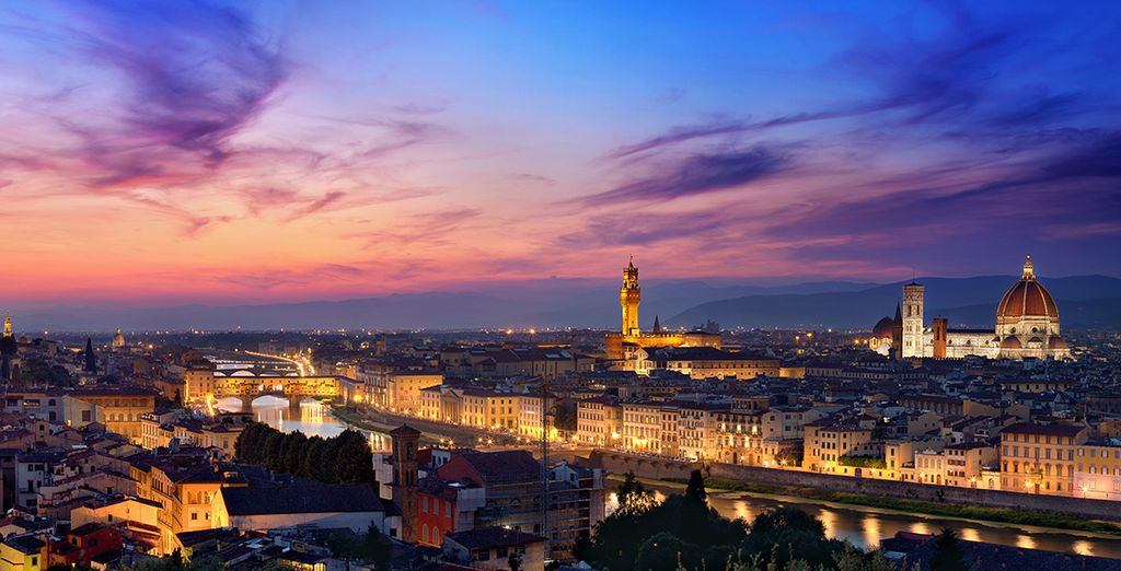 nella bellissima Firenze