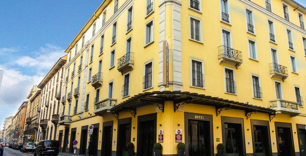 L'hotel Best Western Felice Casati è lieto di accogliervi