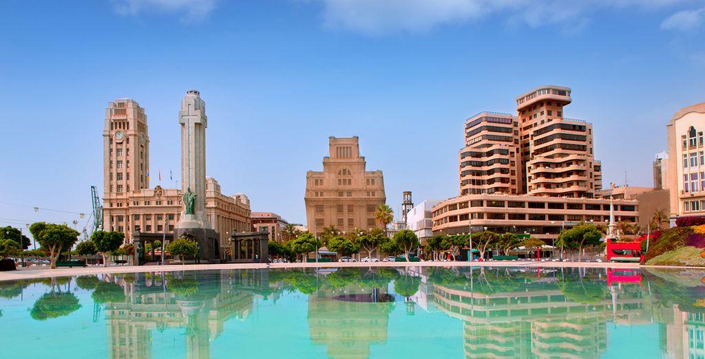 Fate un salto a Santa Cruz de Tenerife, la capitale dell'isola