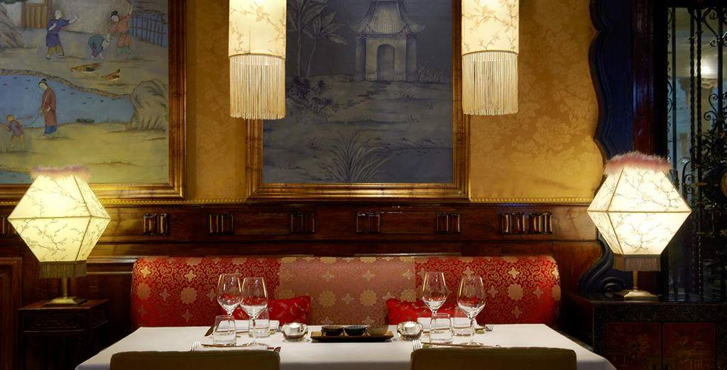 o al ristorante Asia Gallery, uno dei migliori ristoranti asiatici di Madrid