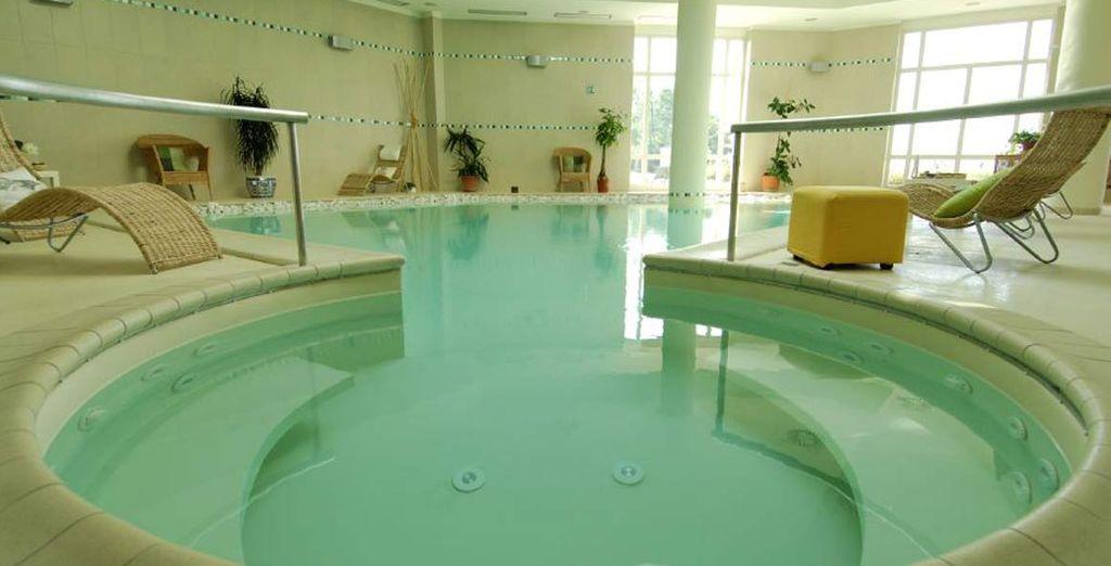 Concedetevi momenti di puro relax nel centro benessere Ossidiana