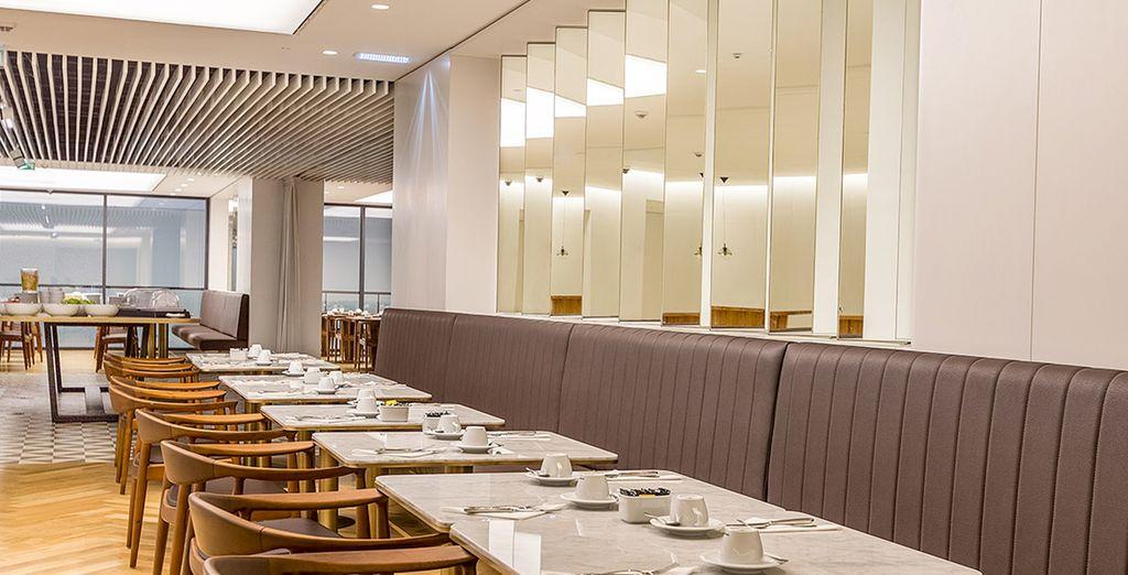 Il ristorante vi offrirà piatti gustosi e genuini