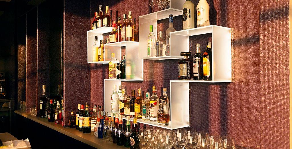concedetevi un drink al bar a fine giornata