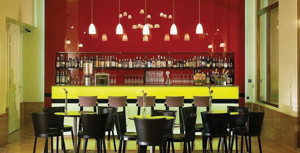 Concedetevi una piacevole pausa al bar con un drink