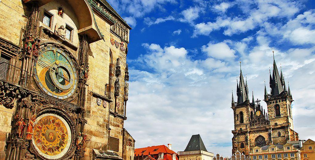 Le infinite meraviglie della capitale ceca vi attendono.