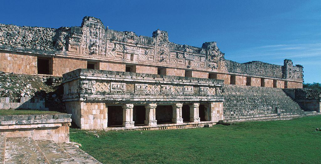 Scoprite poi il sito archeologico di Uxmal