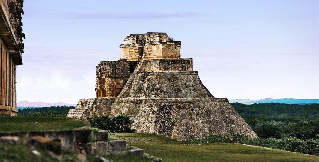 Affascinante sito distrutto e ricostruito per ben 3 volte