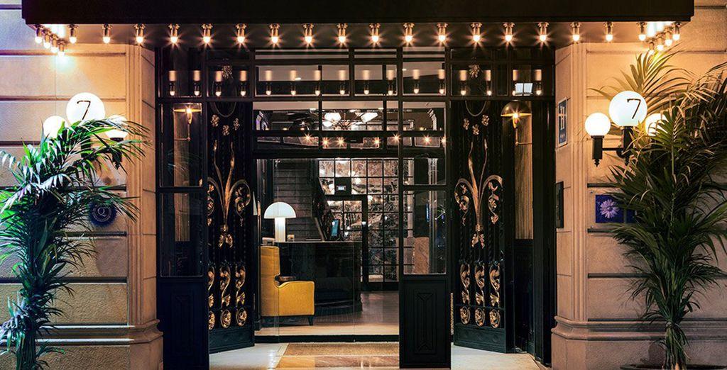 un boutique hotel situato nel cuore di Barcellona