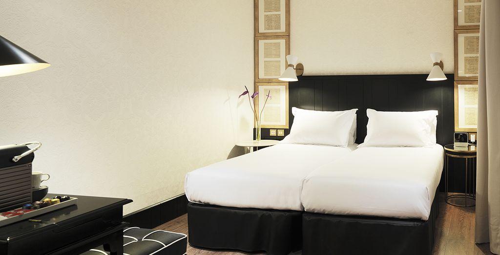 La vostra spaziosa e confortevole camera Standard