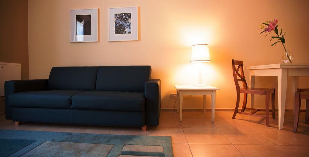 e dotati di tutti i benefit per garantirvi un piacevole soggiorno