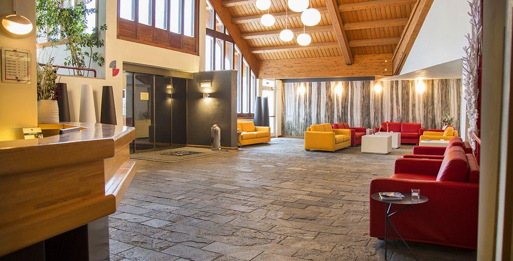 Hotel dal caratteristico design