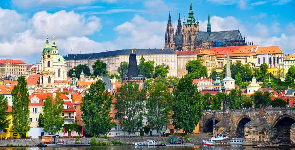Benvenuti nella pittoresca Praga