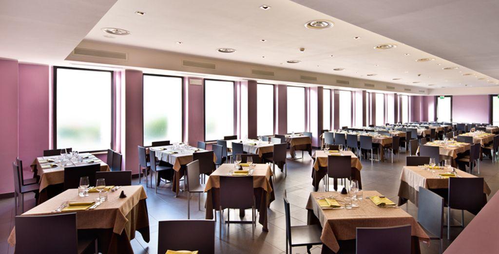Il ristorante vi attende per farvi provare l'ottima cucina tradizionale in un ambiente moderno