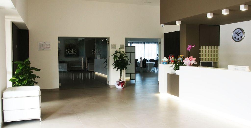 Il Sicilia Hotel Spa 4* è pronto ad aprirvi le sue porte