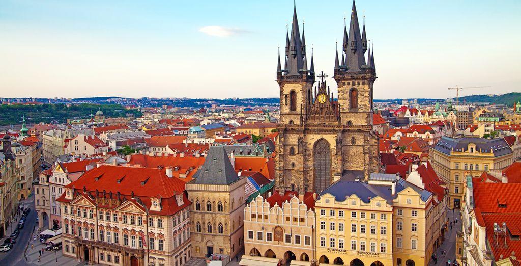 Partite alla scoperta di Praga