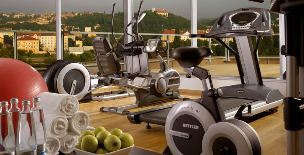 Ammirate il paesaggio dall'esclusivo centro fitness!