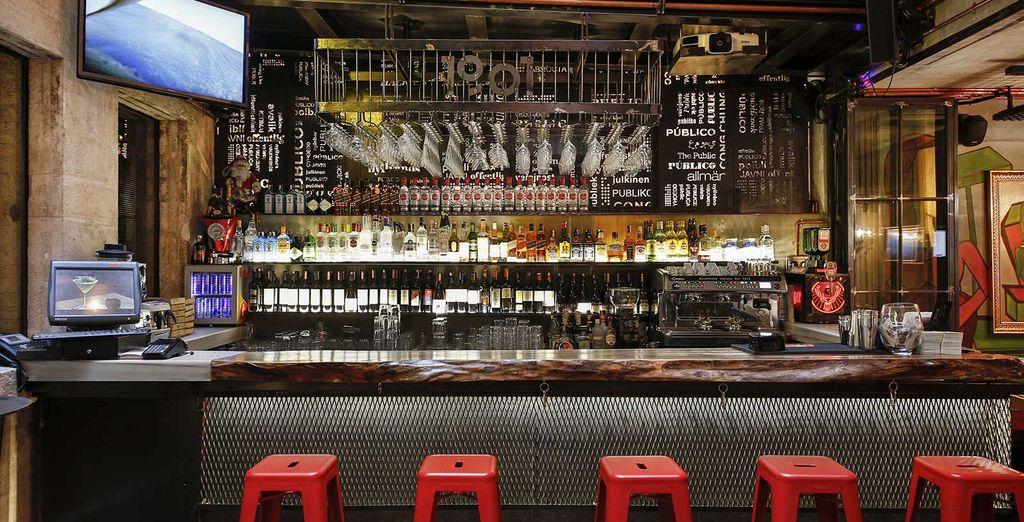 Oppure approfittate del caratteristico Lobby Bar