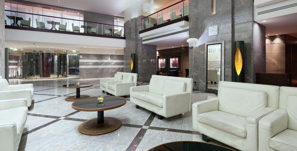 Hotel 4* dalle linee essenziali e moderne