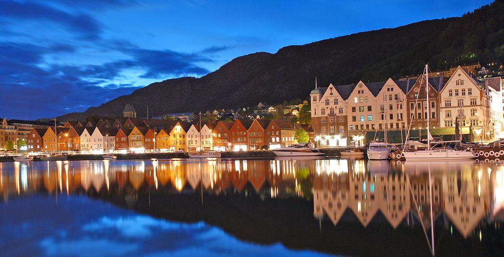 E la bellezza di Bryggen